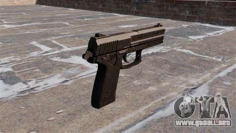 Pistola HK USP para GTA 4 segundos de pantalla