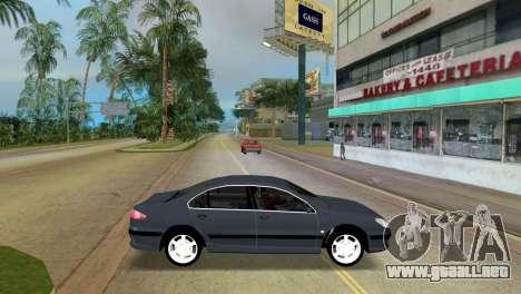 Peugeot 607 V6 para GTA Vice City left