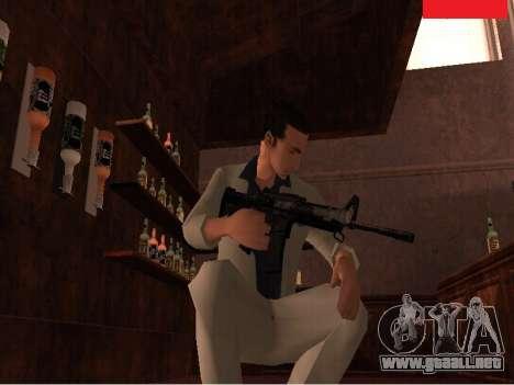 Weapon Pack para GTA San Andreas sucesivamente de pantalla