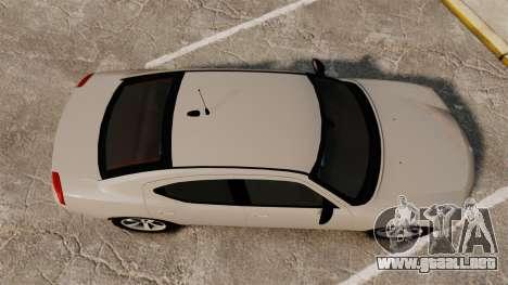Dodge Charger Unmarked Police [ELS] para GTA 4 visión correcta