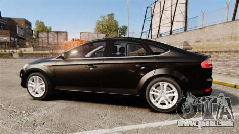 Ford Mondeo Unmarked Police [ELS] para GTA 4 left