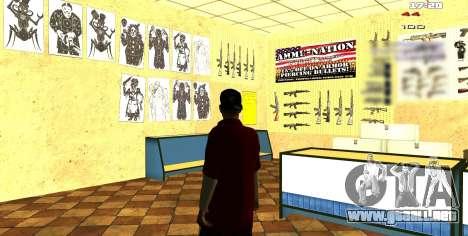 Dos relacionados con Interior cambiar para GTA San Andreas tercera pantalla