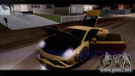 Lamborghini Gallardo LP560-4 Coupe 2013 V1.0 para el motor de GTA San Andreas