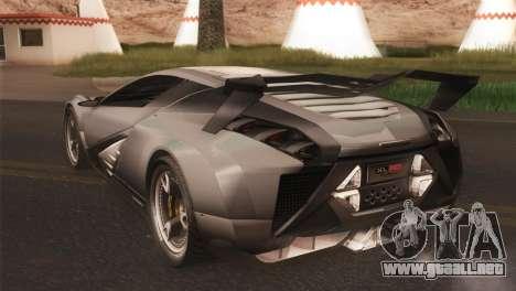 SuperMotoXL CONXERTO v2.0 para GTA San Andreas vista posterior izquierda