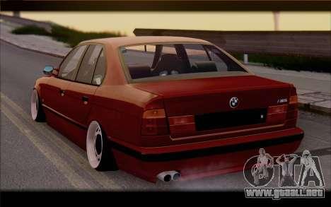 BMW E34 para GTA San Andreas left