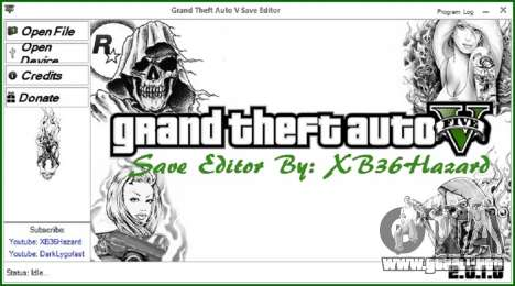 GTA 5 Grand Theft Auto V Save Editor v.2.0.1.0