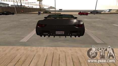 Carbonizzare de GTA 5 para visión interna GTA San Andreas