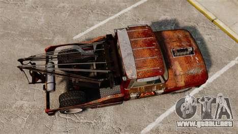 Chevrolet Tow truck rusty Rat rod para GTA 4 visión correcta