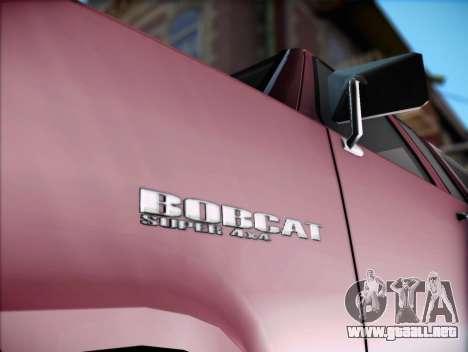 Bobcat insípida XL de GTA V para GTA San Andreas vista posterior izquierda