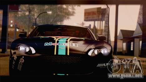 Aston Martin V12 Zagato 2012 [HQLM] para visión interna GTA San Andreas
