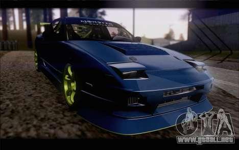 Nissan 240sx drift para visión interna GTA San Andreas