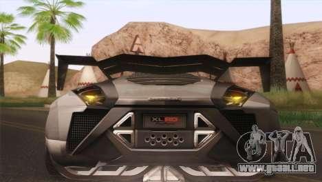 SuperMotoXL CONXERTO v2.0 para visión interna GTA San Andreas