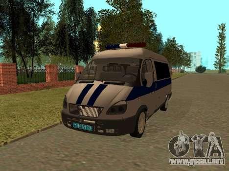 Policía Sable del GAS para GTA San Andreas