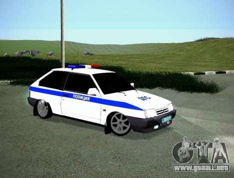 VAZ 2108 DPS para la visión correcta GTA San Andreas