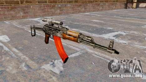 AKMS automático para GTA 4