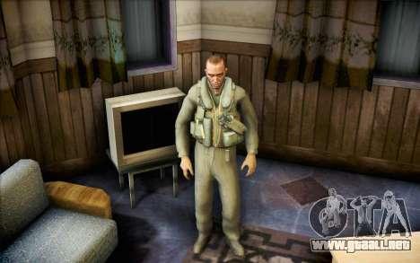 Nicolás de Call of Duty MW2 para GTA San Andreas segunda pantalla