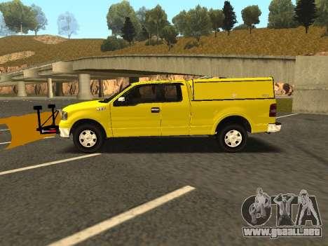 Ford F-150 para GTA San Andreas left