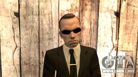 Smith, de la matriz de la película para GTA San Andreas tercera pantalla