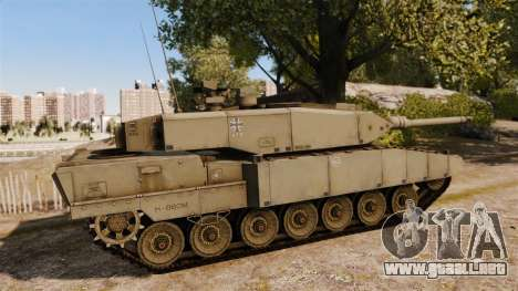 Leopard 2A7 para GTA 4 left