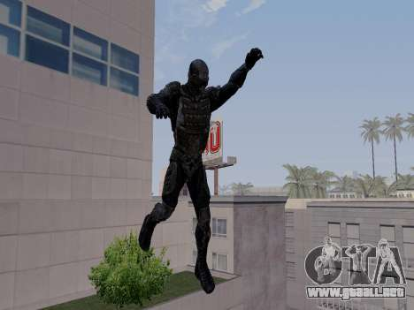 Nano-traje Coreano de Crysis para GTA San Andreas sucesivamente de pantalla