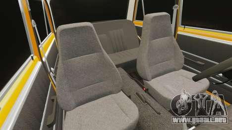 VAZ-2101 tuning para GTA 4 vista superior