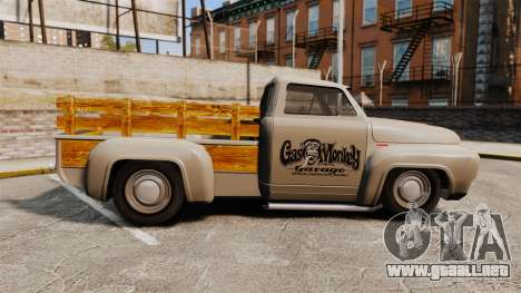 Hot Rod Truck Gas Monkey v2.0 para GTA 4 left