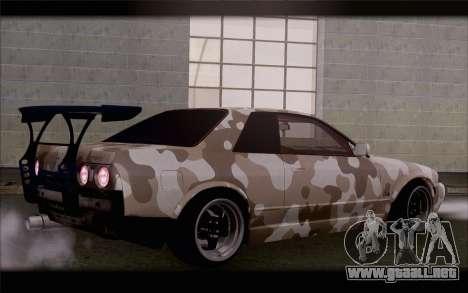 Nissan Skyline GTS Drift Spec para GTA San Andreas left