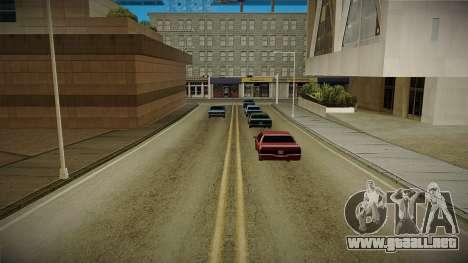 GTA HD Mod 3.0 para GTA San Andreas tercera pantalla
