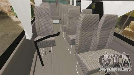Ford Transit Passenger para GTA 4 vista interior