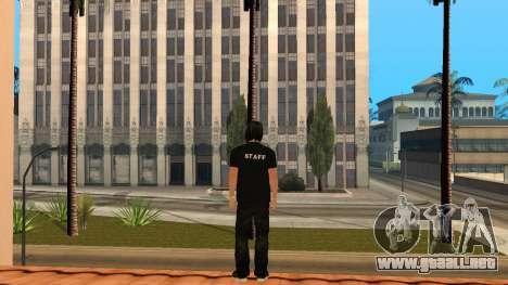Piel de alta calidad personal para GTA San Andreas tercera pantalla