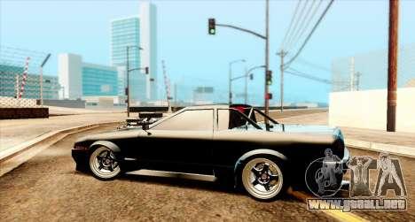 Elegy pickup v2.0 para GTA San Andreas vista posterior izquierda