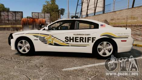 Dodge Charger RT 2012 Police [ELS] para GTA 4 left