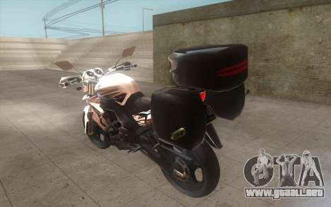 Yamaha V-ixion 150cc 2012 Touring Edition para GTA San Andreas left