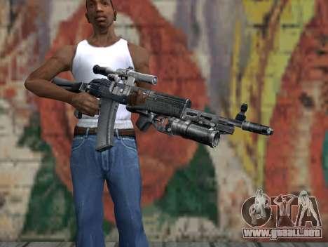AK-47 de un acosador para GTA San Andreas tercera pantalla