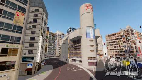 Ubicación de Shibuya para GTA 4 quinta pantalla