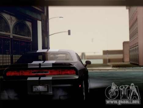 Dodge Challenger SRT8 2012 HEMI para la visión correcta GTA San Andreas