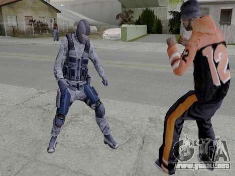 Cell para GTA San Andreas sucesivamente de pantalla