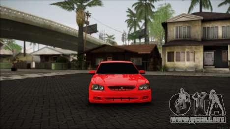 Hyundai Accent para GTA San Andreas vista posterior izquierda