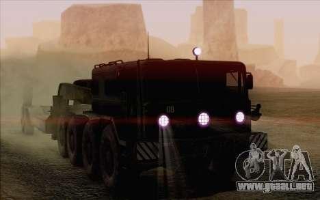 MAZ 535 para la vista superior GTA San Andreas