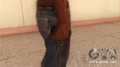 Beretta 92 FS para GTA San Andreas tercera pantalla