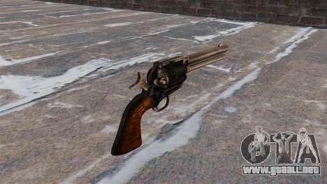 Revólver Colt Peacemaker para GTA 4 segundos de pantalla