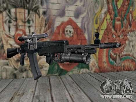 AK-47 de un acosador para GTA San Andreas