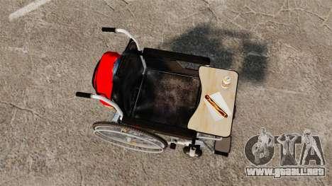 Funny Wheelchair para GTA 4 visión correcta