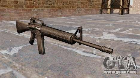 Fusil semiautomático AR-15 Armlite para GTA 4