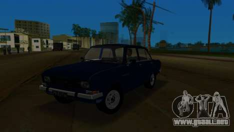 AZLK 2140 para GTA Vice City vista lateral izquierdo