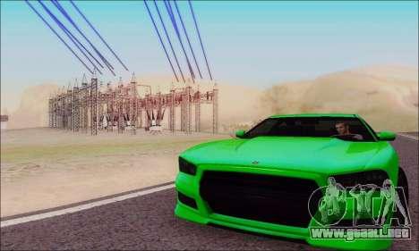Búfalo de GTA V para vista lateral GTA San Andreas