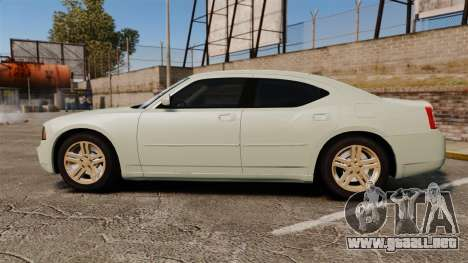 Dodge Charger RT Hemi 2007 para GTA 4 left