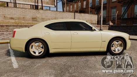 Dodge Charger RT Hemi 2007 para GTA 4 left