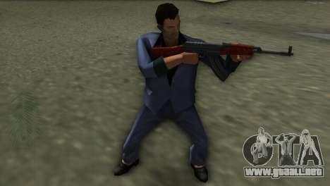 Vz-58 para GTA Vice City sucesivamente de pantalla
