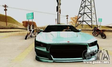 Búfalo de GTA V para GTA San Andreas vista hacia atrás